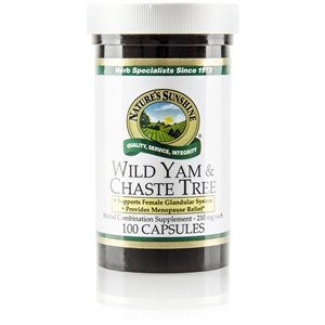 Nature's Sunshine Wild Yam & Chaste Tree (100 caps)