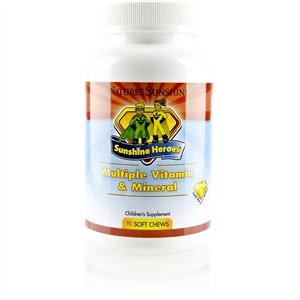 Nature's Sunshine Sunshine Heroes Multiple Vitamin & Mineral (90 soft chews)