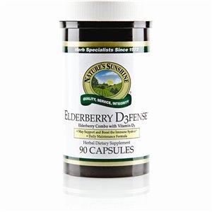 Nature's Sunshine Elderberry D3fense (90 caps)