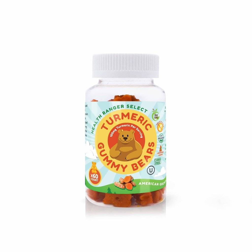 Health Ranger Health Ranger Select Turmeric Gummy Bears