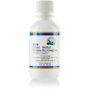 Nature's Sunshine Liquid - Methyl Vitamin B12 Complete