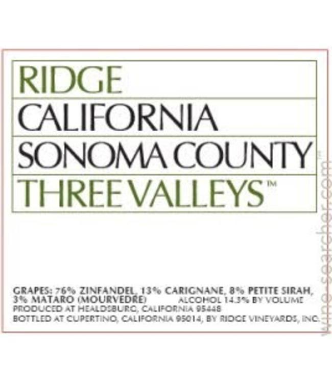 Ridge Three Valleys