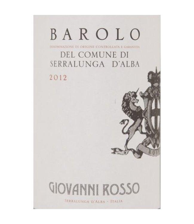 Giovanni Rosso Serralunga D'Alba Barolo 2014