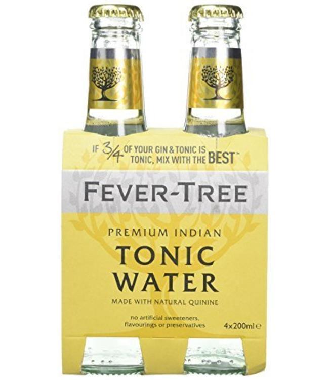 Fever Tree Indian Tonic 4pk