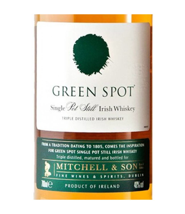 Mitchell & Sons Green Spot Single Pot Irish Whiskey