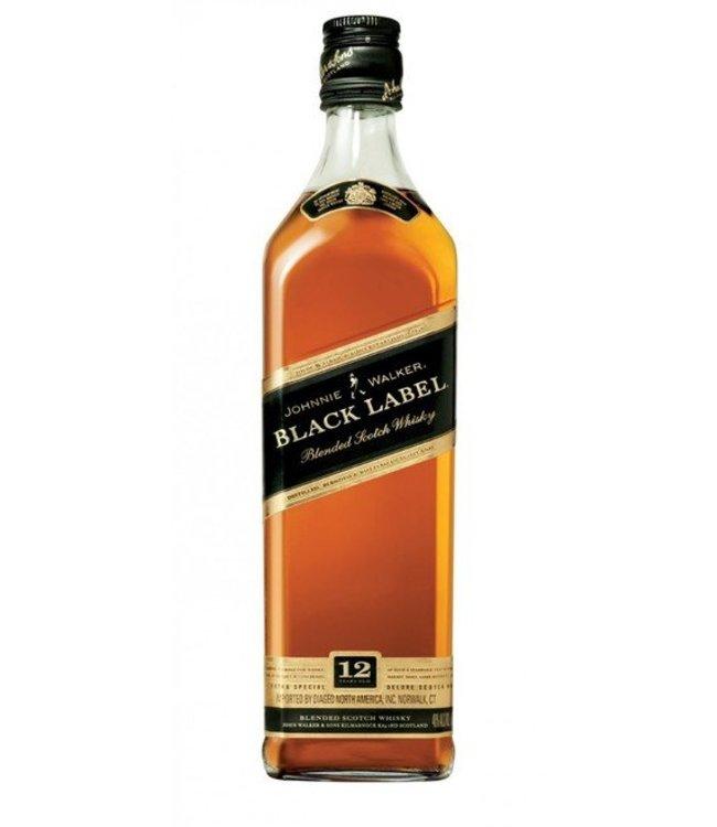 Johnnie Walker Black Label 12 yr Scotch 750ml