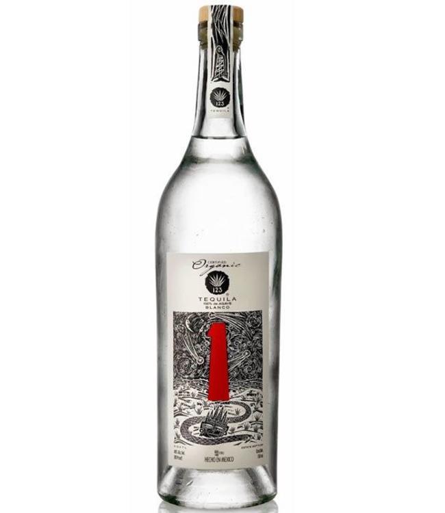 123 Tequila 1  Blanco 'Uno'