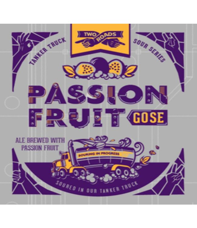 Two Roads Passionfruit Gose