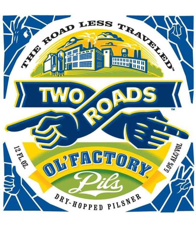 Two Roads Two Roads Ol' Factory Pilsner