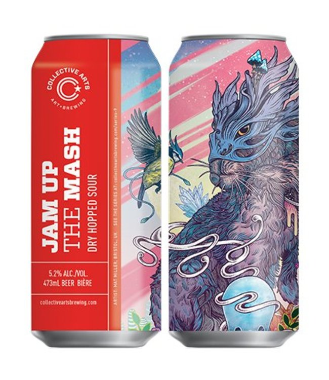 Collective Arts Mash Up The Jam Dry Hopped Sour Single