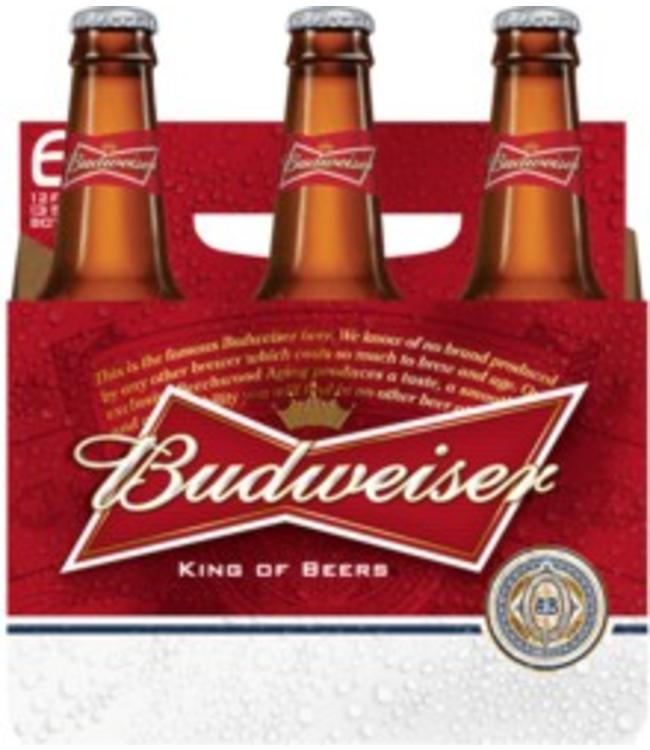 Budweiser Beer 6pk