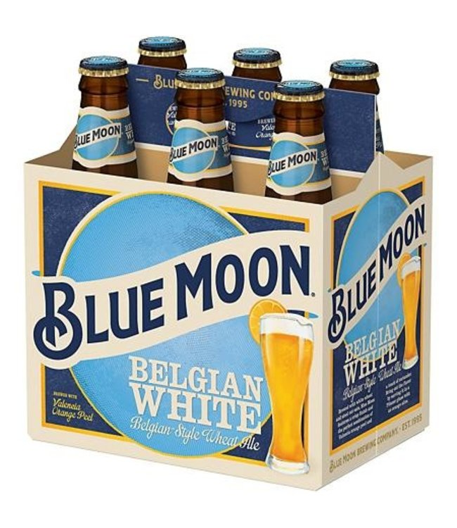 Blue Moon 6pk Bottle