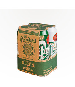 Pilsner Urquell 4 Pack Cans