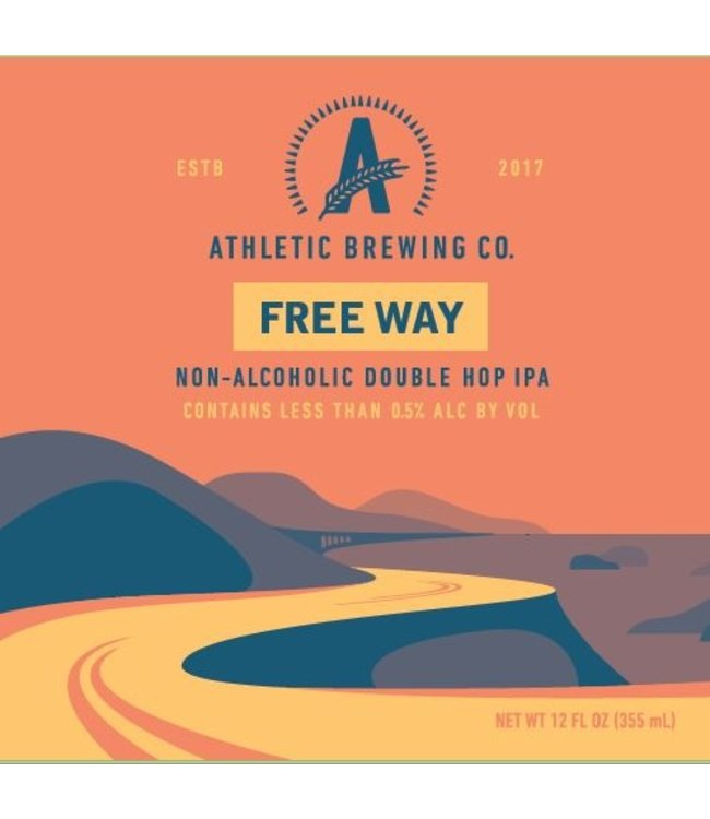 Athletic Brewing Free Wave NA IPA