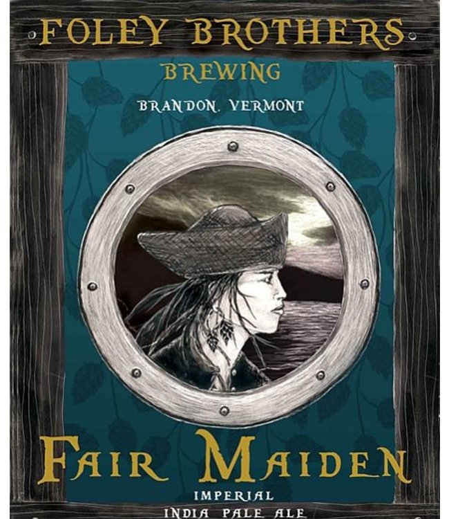 Foley Brothers Fair Maiden DIPA Can