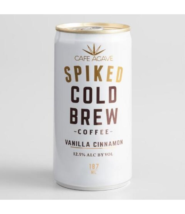 Cafe Agave Vanilla Cinnamon Spiked Cold Brew