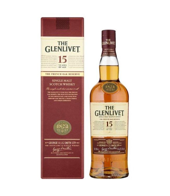 Glenlivet 15yr Scotch