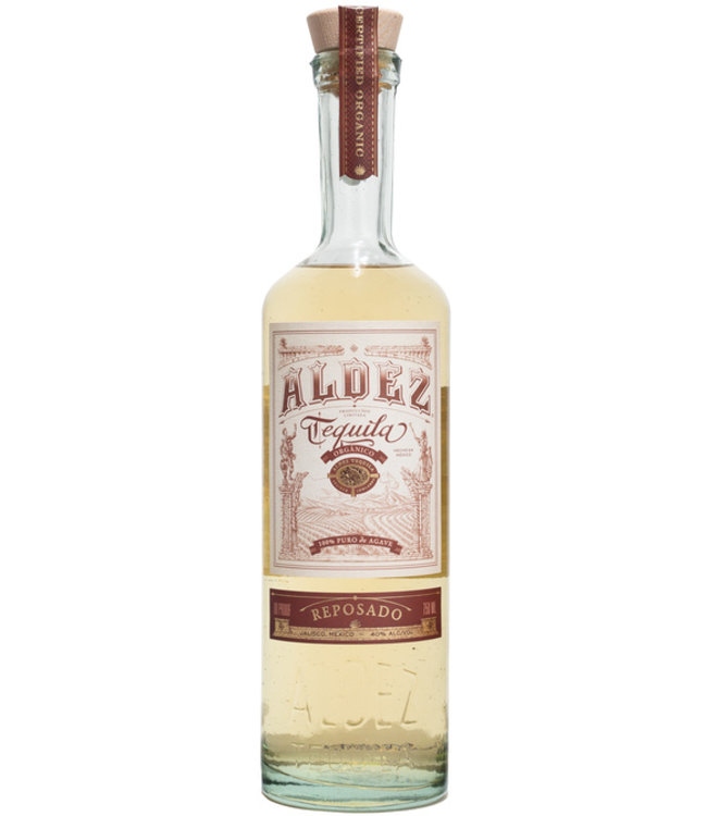 Aldez Reposado Organic Tequila