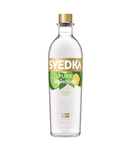 Svedka Pure Infusions Ginger Lime 750ml