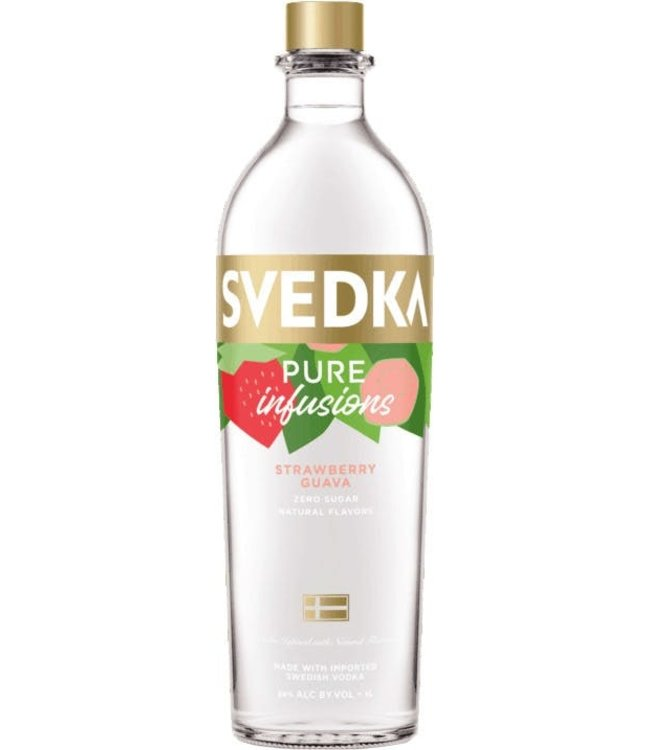 Svedka Pure Infusions Strawberry Guava 750ml
