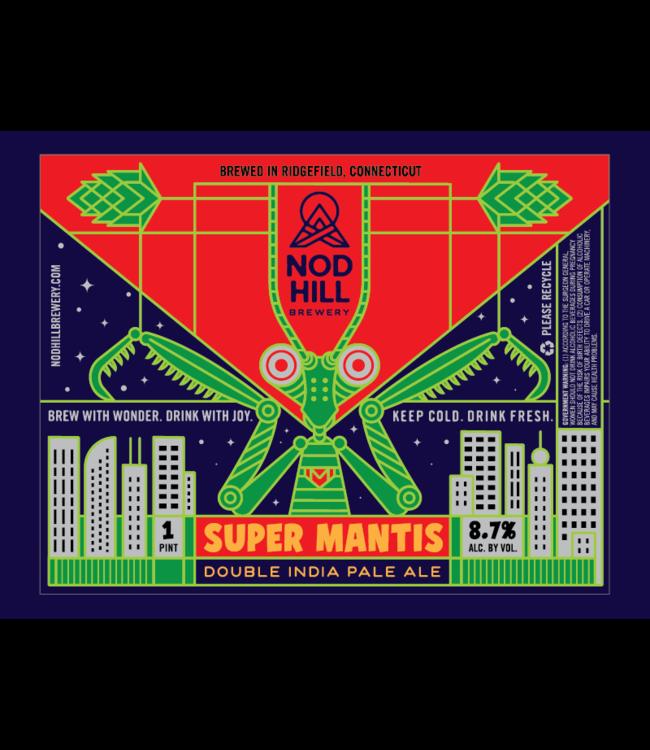 Nod Hill Super Mantis DIPA