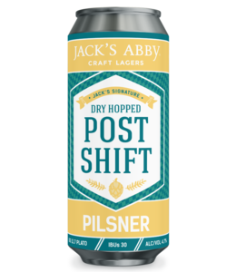 Jack's Abby Dry Hopped Post Shift Pilsner