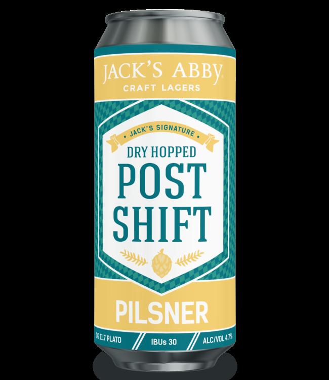 Jack's Abbey Dry Hopped Post Shift Pilsner
