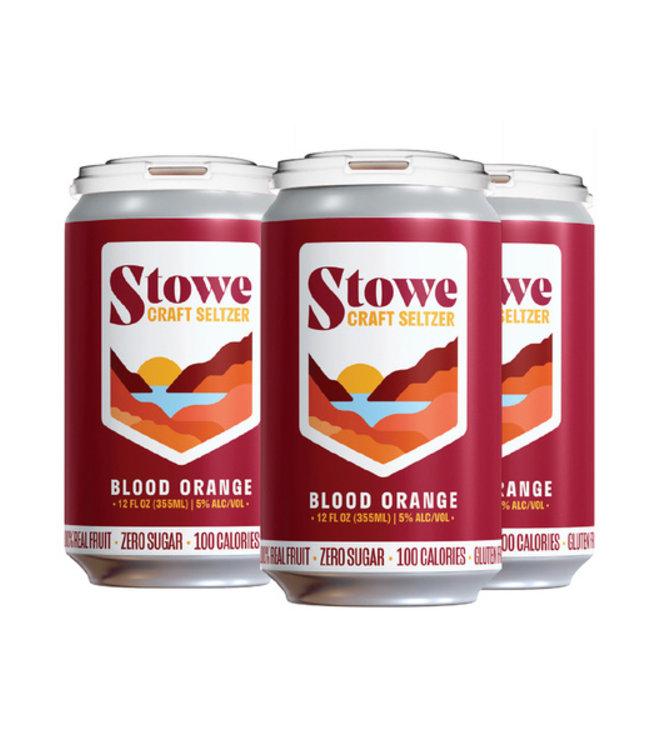 Stowe Seltzer Blood Orange