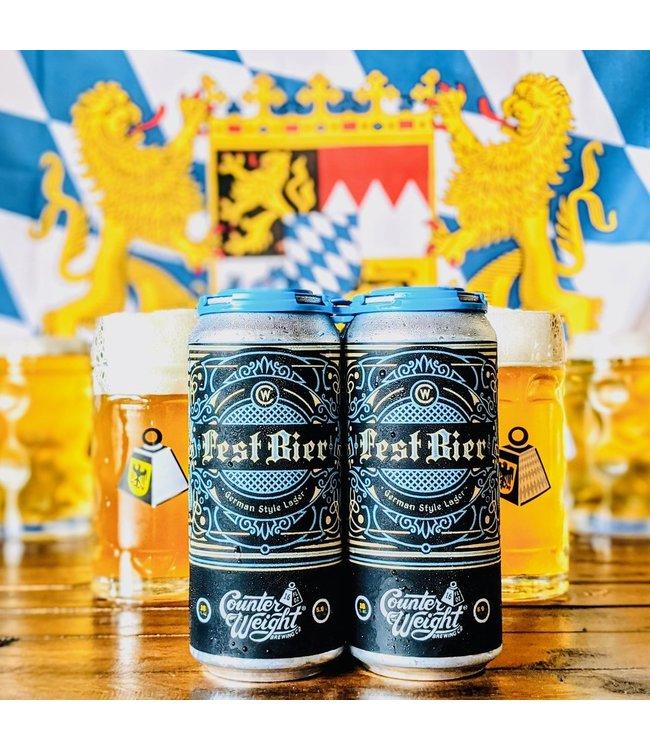 Counterweight Fest Bier