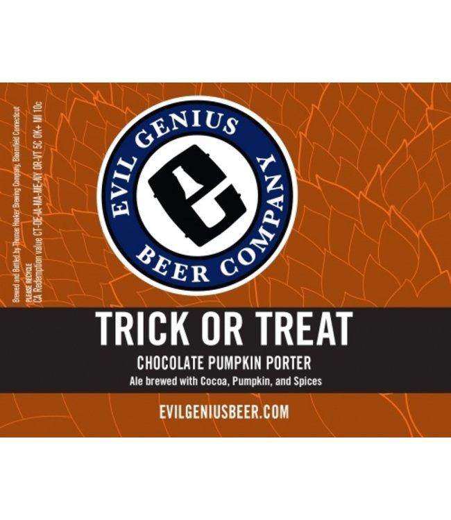 Evil Genius Trick or Treat Pumpkin