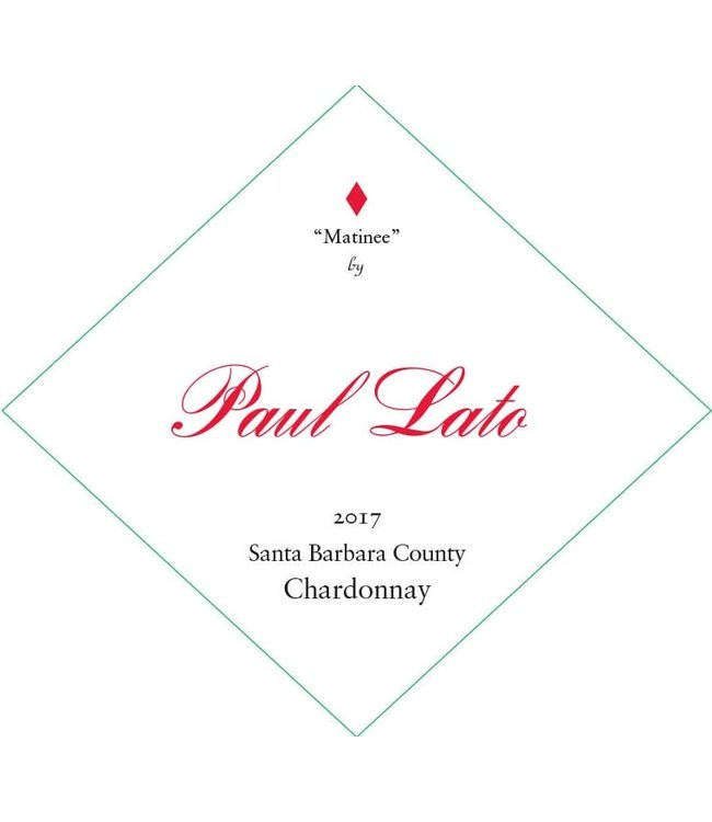 "Paul Lato ""Matinee"" Chardonnay"