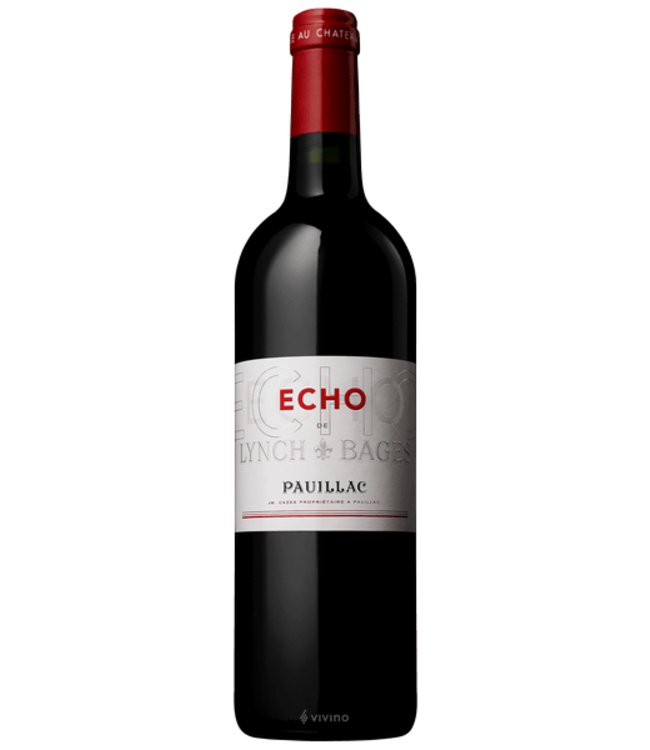 Echo de Lynch Bages Pauillac 2012