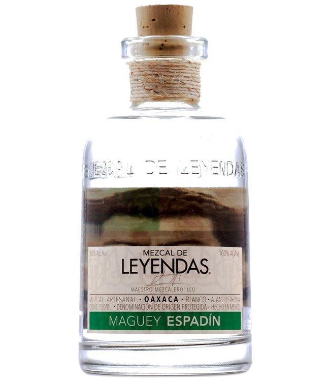 Mezcal de Leyendas Maguey Espadin