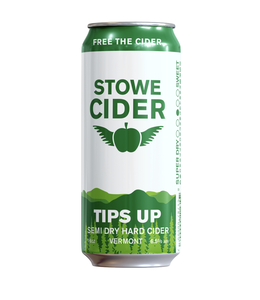 Stowe Cider Tips Up