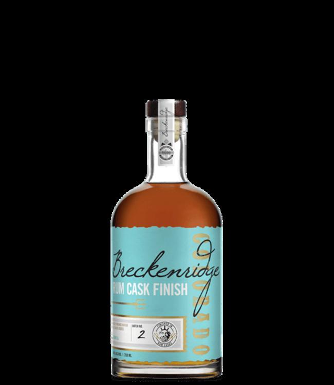 Breckenridge Rum Cask Finish Bourbon