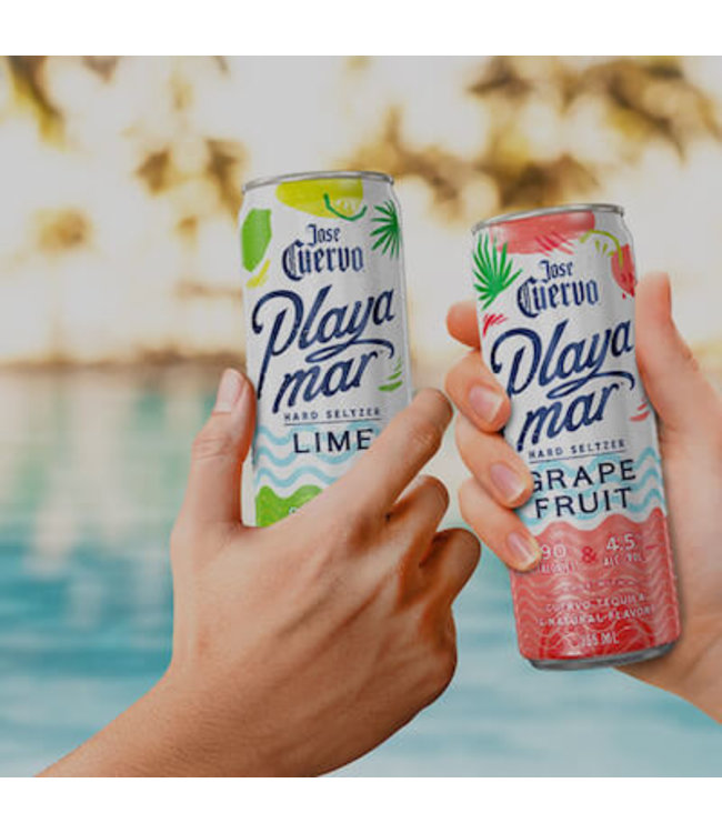 Playa Mar Black Cherry Can