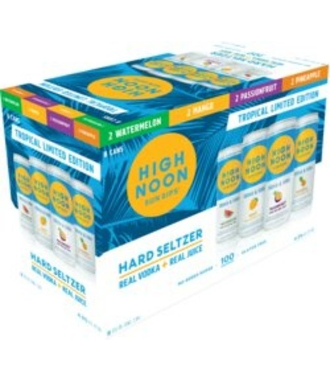 High Noon Variety 8 Pack TROPICAL