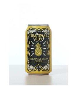 Original Sin Pineapple Haze Cider 12oz CAN
