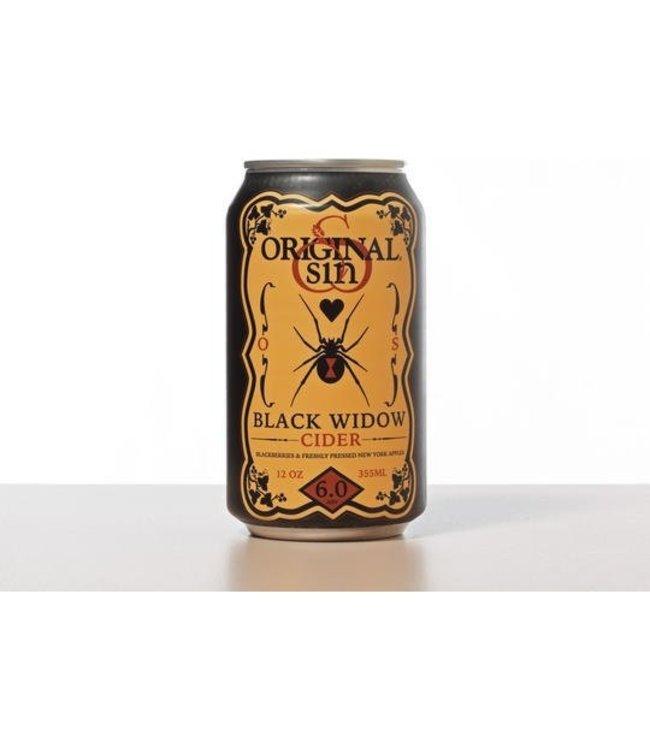 Original Sin Black Widow Cider 12oz CAN
