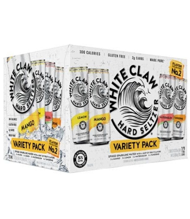 White Claw Variety Pk #2 - 12 Can Pk