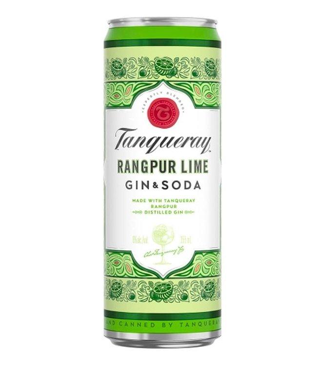 Tanquerray Rangpur Lime & Soda Cocktail