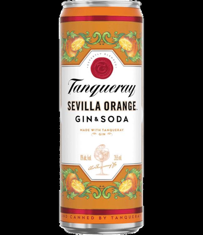 Tanquerray Seville Orange & Soda Cocktail