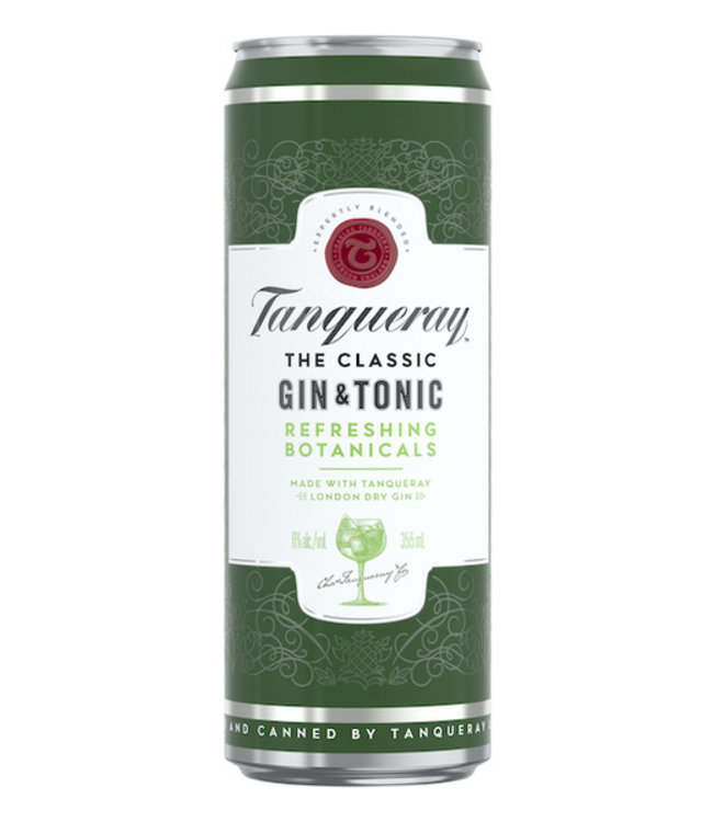Tanquerray Gin & Tonic Cocktail