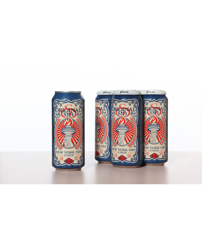 Original Sin New York Dry Cider 16oz CAN