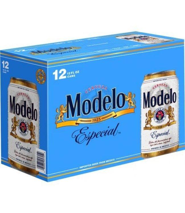 Modelo Especial Beer 12pk CANS