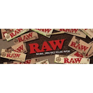 Raw Papers RAW Natural Rolling Papers, Pre-Rolled Cones and Filter Tips