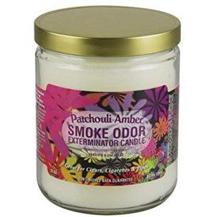 Smoke Odor Exterminator Patchouli Amber - Smoke Odor Eliminator Candle