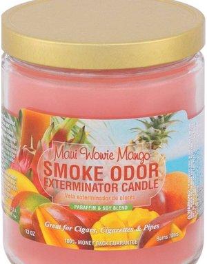 Smoke Odor Exterminator MAUI WOWIE MANGO-CANDLE: MAUI WOWIE MANGO SMOKE ODOR CANDLE