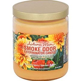 Smoke Odor Exterminator AUTUMN MUM-CANDLE: AUTUMN MUM SMOKE ODOR CANDLE
