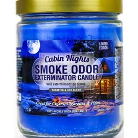 Smoke Odor Exterminator CABIN NIGHTS-CANDLE: CABIN NIGHTS SMOKE ODOR CANDLE